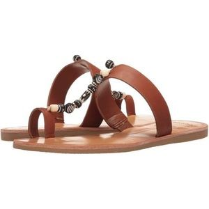 Dolce Vita Brown Leather Sandals